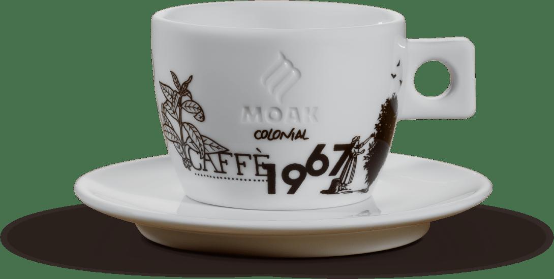 moak tazza doppio cappuccino